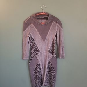 Imported unique form fitting dress